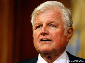 Sen. Ted Kennedy died late Tuesday of a brain tumor at age 77.