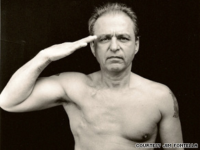 Jim Fontella was based at Camp Lejeune in 1966 and 1967. He was diagnosed with breast cancer in 1998.