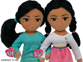 Ty, the maker of Beanie Babies, is introducing two new Ty Girlz dolls named Marvelous Malia and Sweet Sasha.