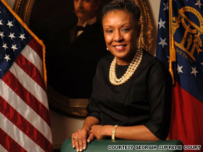 Leah Sears stepped down as chief justice of the Georgia Supreme Court to work on strengthening families.