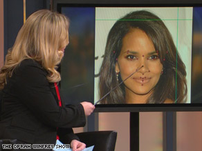 Biostatistics expert Kendra Schmid explains why actress Halle Berry scored very high on facial attractiveness.