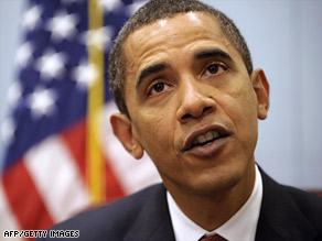 Barack Obama says failure to act quickly on his economic plan would have devastating consequences.