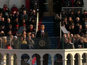 In his speech Tuesday, President Obama said America must play its role in ushering in a new era of peace.
