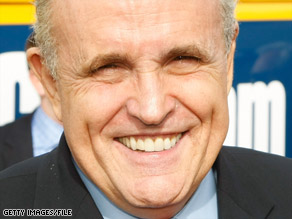 Rudy Giuliani says that when he was mayor, he gauged the New York City budget by Wall Street bonuses.