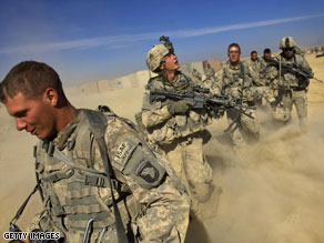 President Obama wants to add troops and increase aid to Afghanistan.