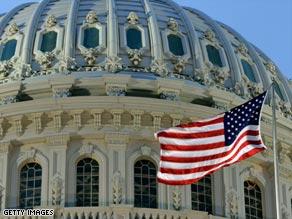 The Senate is currently the nearly $900 billion economic stimulus bill.