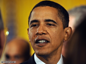 A poll shows approval of President Obama slipping, but most of the loss of support is among Republicans.
