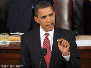 President Obama tells Congress Tuesday night: 'I have no illusions this will be an easy process'.