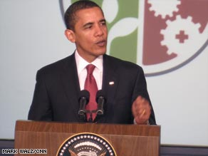 Stimlulus money has got to be spent wisely, President Obama tells state leaders on Thursday.
