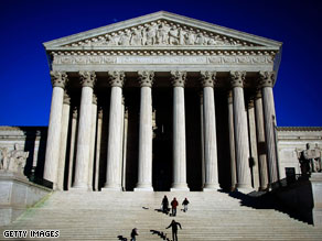 The Supreme Court is tackling a First Amendment case involving a movie about Hillary Clinton.