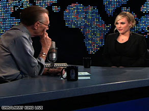 Meghan McCain tells Larry King on Monday night: I'm not going to be bullied around about my weight.