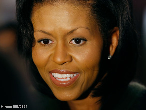 First lady Michelle Obama can play a role in rebranding America, CNN's Bill Schneider says.