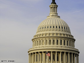 The U.S. House passed a $3.55 trillion budget for fiscal year 2010 Thursday night.