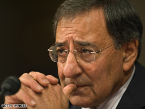 CIA Director Leon Panetta says secret prisons used to detain terror suspects have been closed.