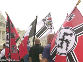 The Department of Homeland Security says membership in extremists groups like this may be increasing.