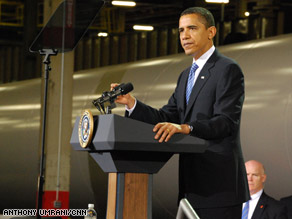 President Obama speaking in NYC on Earth Day 2010