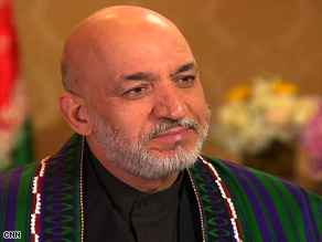 Karzai: 'ally in a shared struggle.'