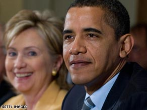 Barack Obama has turned Hillary Clinton from a political rival into a loyal ally.