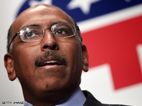 Michael Steele said Friday that President Obama 'came out of no where.'
