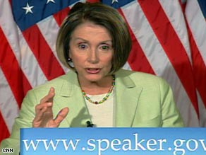 """House Speaker Nancy Pelosi says she was misled about the use of """"enhanced interrogation techniques."""""""