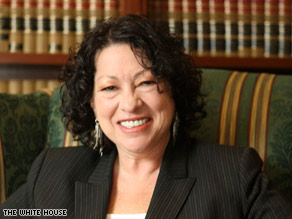 Sonia Sotomayor spoke to the University of California, Berkeley School of Law in 2001.