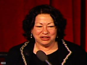 Sonia Sotomayor would become the first Hispanic to serve on the Supreme Court.