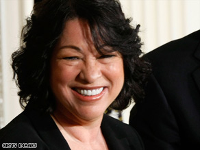Judge Sonia Sotomayor would be the first Hispanic person to serve on the Supreme Court.