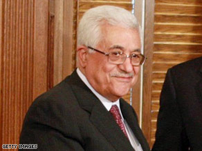 Palestinian Authority President Mahmoud Abbas meets with President Obama on Thursday.