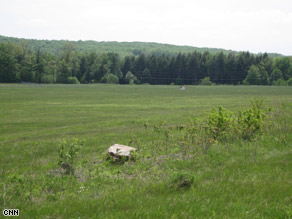 This plot of land is scheduled to house the permanent Flight 93 memorial.