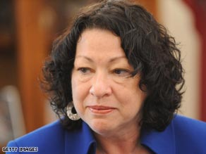 Judge Sonia Sotomayor was confirmed as an appeals judge after senators were given her 1994 speech.