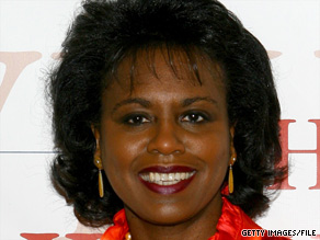 Anita Hill arrives at the United Nations in New York in May 2006.