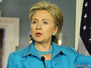 Secretary of State Hillary Clinton was treated and released after fracturing her elbow.