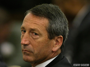 Gov. Mark Sanford told The State newspaper he was surprised the story was attracting such attention.