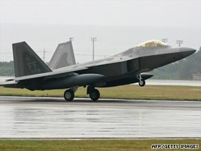 The F-22 Raptor is the most expensive jet fighter ever built.