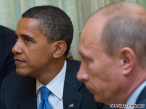 President Obama meets Tuesday with Russian Prime Minister Vladimir Putin near Moscow.