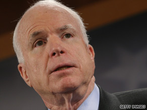 Senator McCain believes that America must succeed in Afghanistan