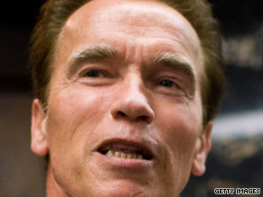 Schwarzenegger announced a major plan Monday to eliminate California's $26 billion deficit.