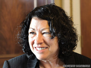 The Senate Judiciary Committee is set to vote Tuesday on Judge Sotomayor's nomination to the Supreme Court.