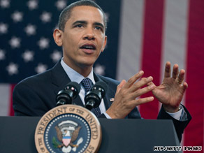 President Obama stresses the urgency of health care reform at a town hall meeting in Raleigh, North Carolina.