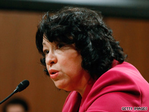 Sonia Sotomayor will be the first Hispanic on the Supreme Court if she is confirmed.