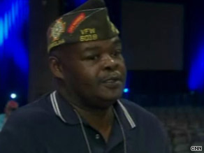 Roland Rochester says he's confident President Obama will handle the Iraq and Afghanistan wars well.