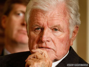 Senator Edward Kennedy died late Tuesday at his home.