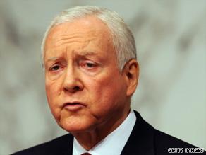 Sen. Orrin Hatch says America lost a great elder statesman and public servant with Kennedy's death.