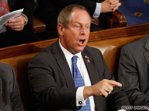 "Rep. Joe Wilson shouted ""you lie"" after President Obama denied the health care plan would cover illegal immigrants."