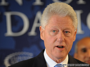 Former President Clinton said Republicans won't see a 1994-like surge at the polls in 2010.