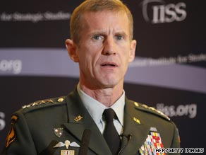 General Stanley McChrystal will reportedly be getting an additional 18,000 troops for the war in Afghanistan.