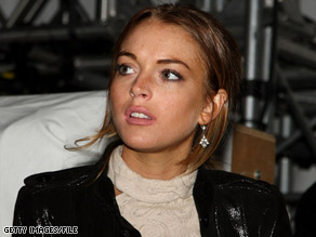 A warrant issued for Lindsay Lohan apparently stems from her 2007 drunken driving convictions, police said.
