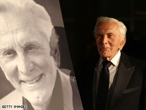 Kirk Douglas, now 92, recently starred in a one-man show about his life and work.