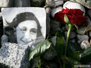 Anne Frank died almost 65 years ago, but the diary she left behind continues to captivate the world, says a rabbi.