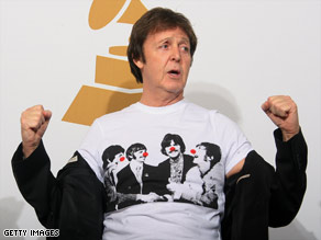 Paul McCartney (above) and Ringo Starr are teaming up for a fund-raising concert.